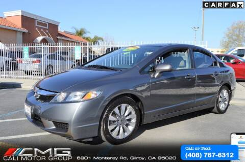 2009 Honda Civic for sale at Cali Motor Group in Gilroy CA