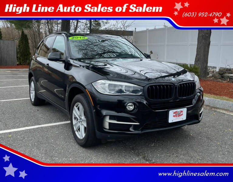 2015 BMW X5 for sale at High Line Auto Sales of Salem in Salem NH