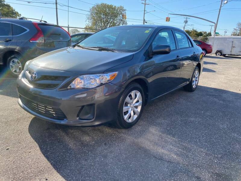 2012 Toyota Corolla for sale at American Best Auto Sales in Uniondale NY