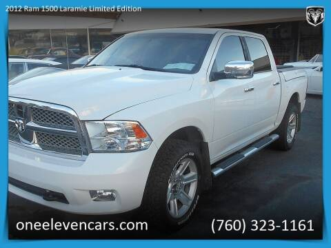 2012 RAM Ram Pickup 1500 for sale at One Eleven Vintage Cars in Palm Springs CA