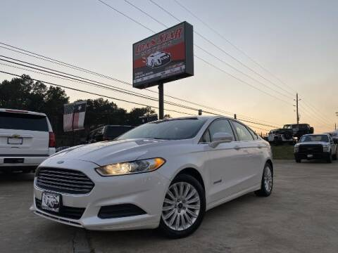 2016 Ford Fusion Hybrid for sale at Loan Star Motors in Humble TX