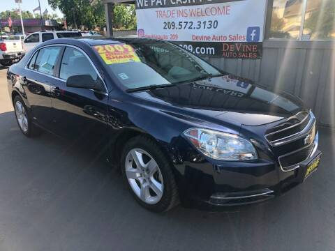 2009 Chevrolet Malibu for sale at Devine Auto Sales in Modesto CA