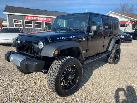2008 Jeep Wrangler Unlimited for sale at Y City Auto Group in Zanesville OH