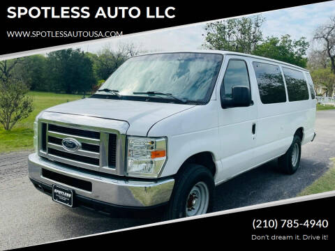 2008 Ford E-Series Cargo for sale at SPOTLESS AUTO LLC in San Antonio TX