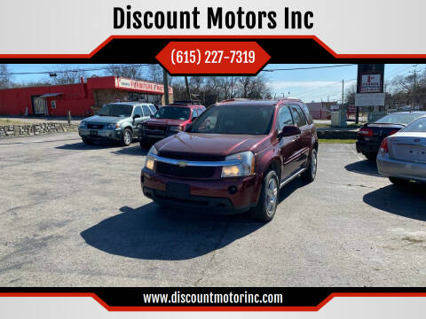 2006 Chevrolet Equinox for sale at Discount Motors Inc in Nashville TN