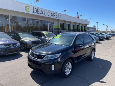 2015 Kia Sorento for sale at Ideal Cars in Mesa AZ