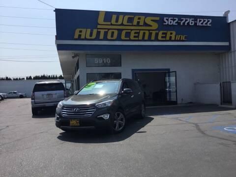 2013 Hyundai Santa Fe for sale at Lucas Auto Center in South Gate CA