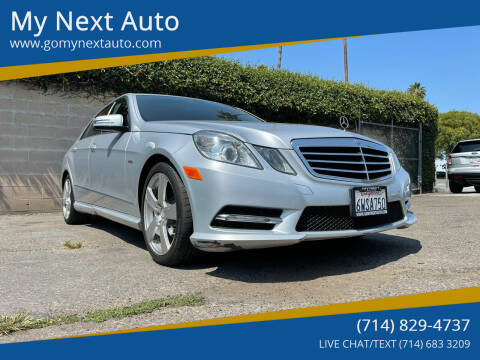 2012 Mercedes-Benz E-Class for sale at My Next Auto in Anaheim CA