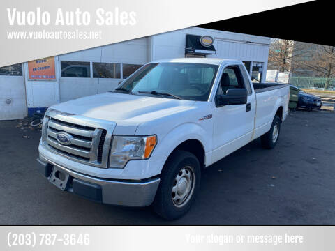 2012 Ford F-150 for sale at Vuolo Auto Sales in North Haven CT
