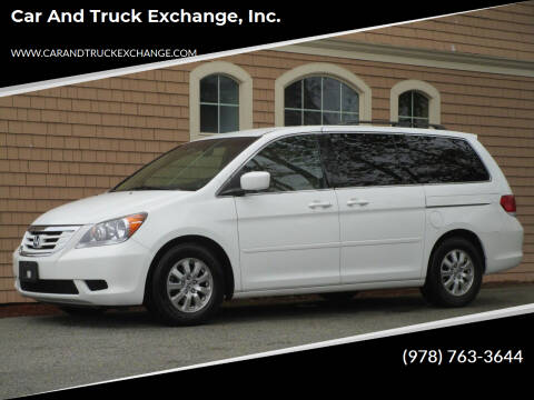 2010 Honda Odyssey for sale at Car and Truck Exchange, Inc. in Rowley MA