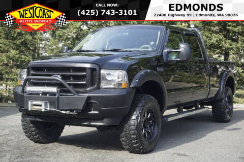 2003 Ford F-350 Super Duty for sale at West Coast Auto Works in Edmonds WA