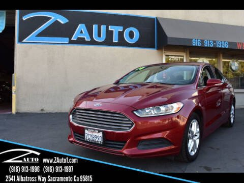 2014 Ford Fusion for sale at Z Auto in Sacramento CA