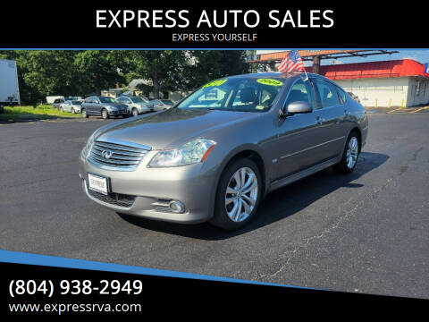 2009 Infiniti M35 for sale at EXPRESS AUTO SALES in Midlothian VA