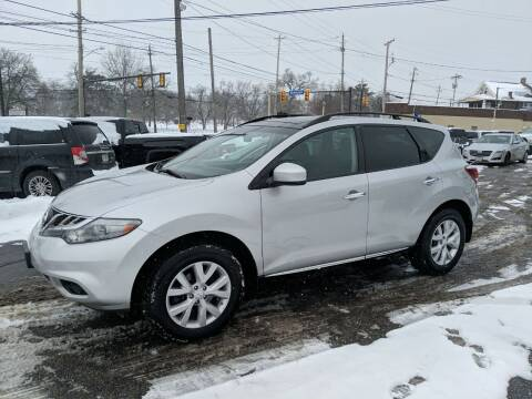 2011 Nissan Murano for sale at Richland Motors in Cleveland OH