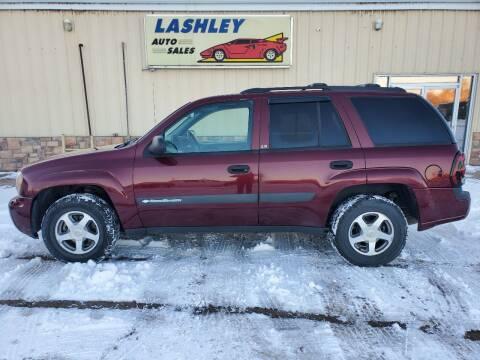 2004 Chevrolet TrailBlazer for sale at Lashley Auto Sales in Mitchell NE
