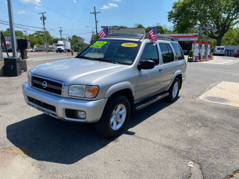 2003 Nissan Pathfinder for sale at 1020 Route 109 Auto Sales in Lindenhurst NY