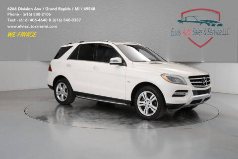 2012 Mercedes-Benz M-Class for sale at Elvis Auto Sales LLC in Grand Rapids MI