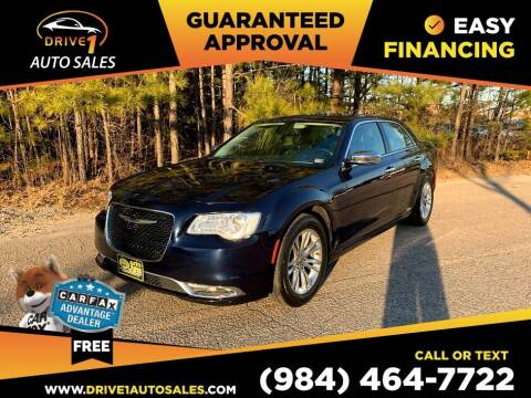 2016 Chrysler 300 for sale at Drive 1 Auto Sales in Wake Forest NC