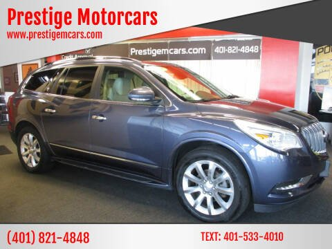 2014 Buick Enclave for sale at Prestige Motorcars in Warwick RI