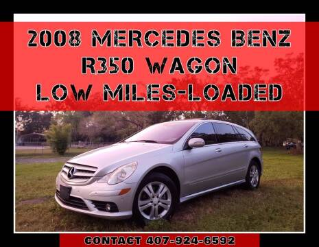 2008 Mercedes-Benz R-Class for sale at AFFORDABLE ONE LLC in Orlando FL