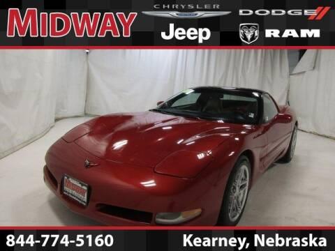 1998 Chevrolet Corvette for sale at MIDWAY CHRYSLER DODGE JEEP RAM in Kearney NE
