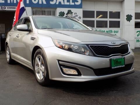 2015 Kia Optima for sale at Village Motor Sales in Buffalo NY