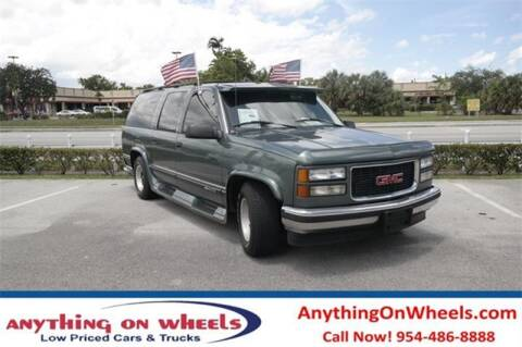 1995 GMC Suburban for sale at JumboAutoGroup.com - Anythingonwheels.com in Oakland Park FL