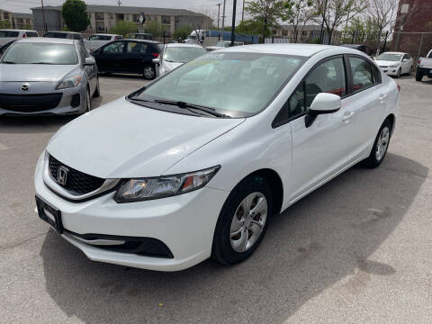 2013 Honda Civic for sale at Legend Auto Sales in El Paso TX