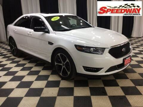 2016 Ford Taurus for sale at SPEEDWAY AUTO MALL INC in Machesney Park IL