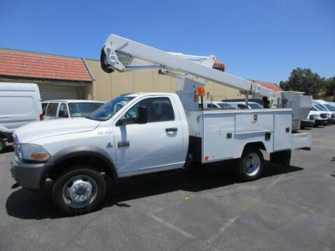 2011 RAM Ram Chassis 5500 for sale at Norco Truck Center in Norco CA
