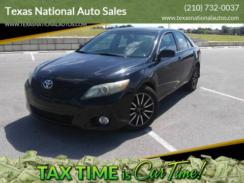 2011 Toyota Camry for sale at Texas National Auto Sales in San Antonio TX