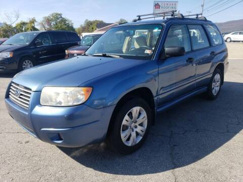 2008 Subaru Forester for sale at Salem Auto Sales in Salem VA