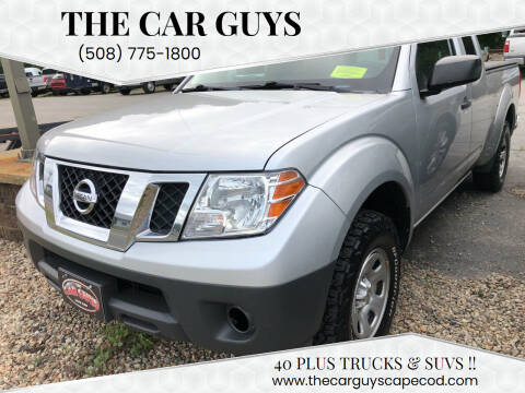 2015 Nissan Frontier for sale at The Car Guys in Hyannis MA