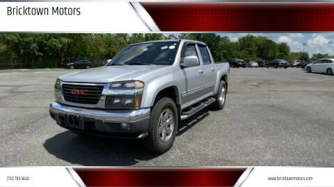 2012 GMC Canyon for sale at Bricktown Motors in Brick NJ