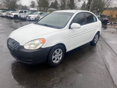 2009 Hyundai Accent for sale at Blue Line Auto Group in Portland OR