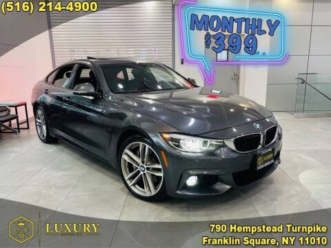 2018 BMW 4 Series for sale at LUXURY MOTOR CLUB in Franklin Square NY