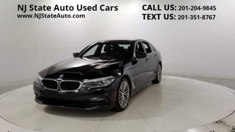 2017 BMW 5 Series for sale at NJ State Auto Auction in Jersey City NJ