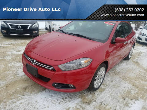 2013 Dodge Dart for sale at Pioneer Drive Auto LLc in Wisconsin Dells WI