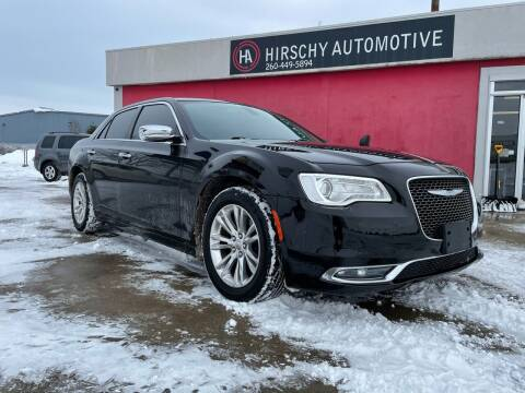2016 Chrysler 300 for sale at Hirschy Automotive in Fort Wayne IN