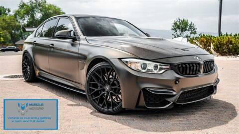 2016 BMW M3 for sale at MUSCLE MOTORS AUTO SALES INC in Reno NV