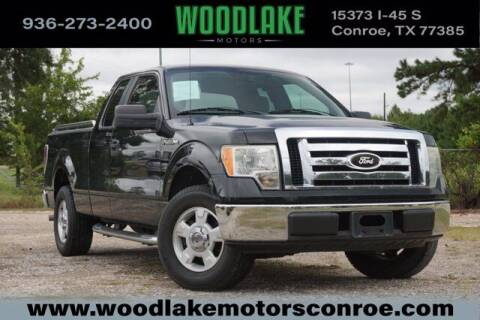 2009 Ford F-150 for sale at WOODLAKE MOTORS in Conroe TX