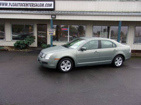 2008 Ford Fusion for sale at PJ's Auto Center in Salem OR