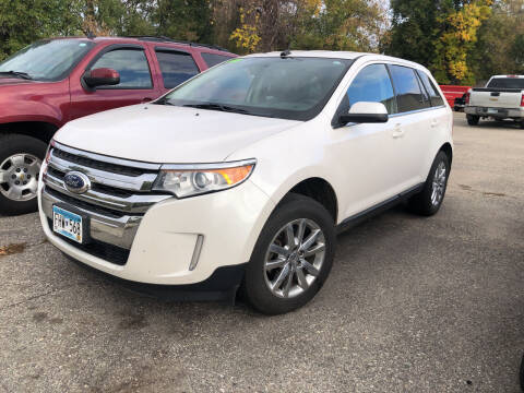2013 Ford Edge for sale at Monte Motor Sales in Montevideo MN