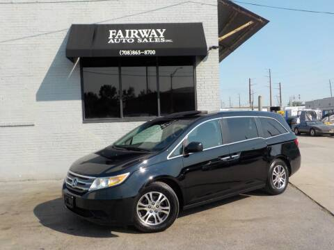 2011 Honda Odyssey for sale at FAIRWAY AUTO SALES, INC. in Melrose Park IL
