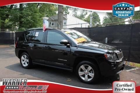 2017 Jeep Compass for sale at Warner Motors in East Orange NJ