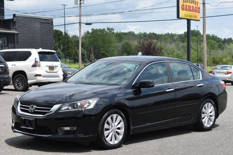 2013 Honda Accord for sale at Broadway Garage of Columbia County Inc. in Hudson NY