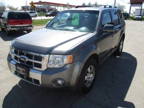 2012 Ford Escape for sale at King's Kars in Marion IA