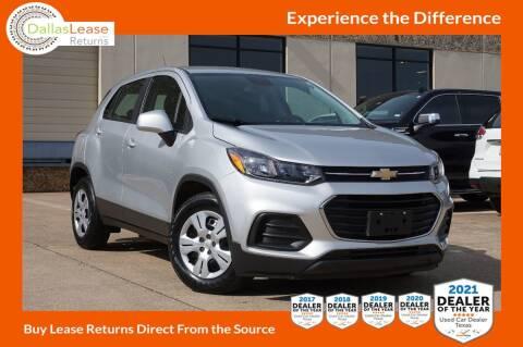 2017 Chevrolet Trax for sale at Dallas Auto Finance in Dallas TX