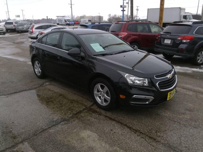 2016 Chevrolet Cruze Limited for sale at Regency Motors Inc in Davenport IA