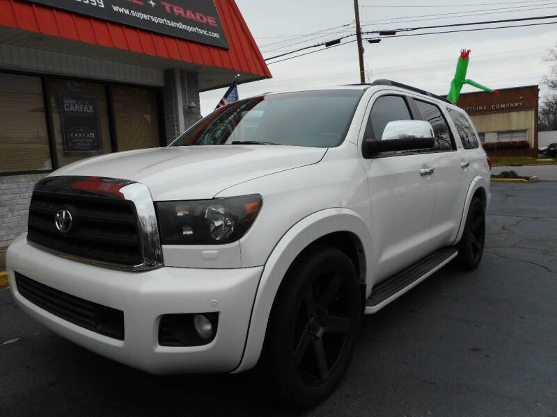 2010 Toyota Sequoia for sale at Super Sports & Imports in Jonesville NC
